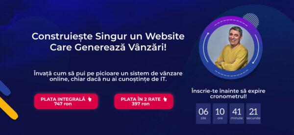 construieste un website de succes